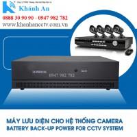 Bộ lưu điện cho 8 Camera CCTV-8