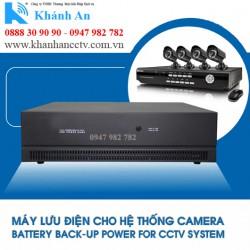 Bộ lưu điện cho 8 Camera TORA CCTV-8