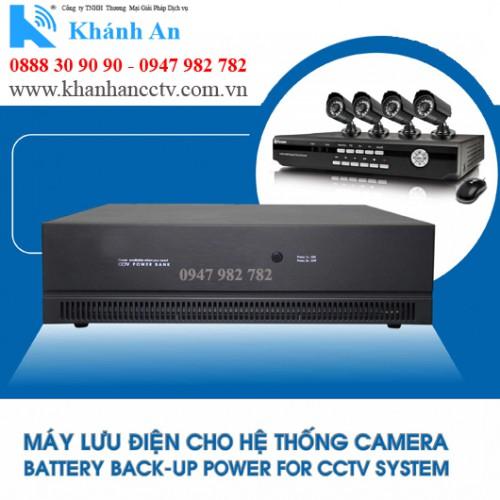 Bộ lưu điện cho 8 Camera TORA CCTV-8, đại lý, phân phối,mua bán, lắp đặt giá rẻ