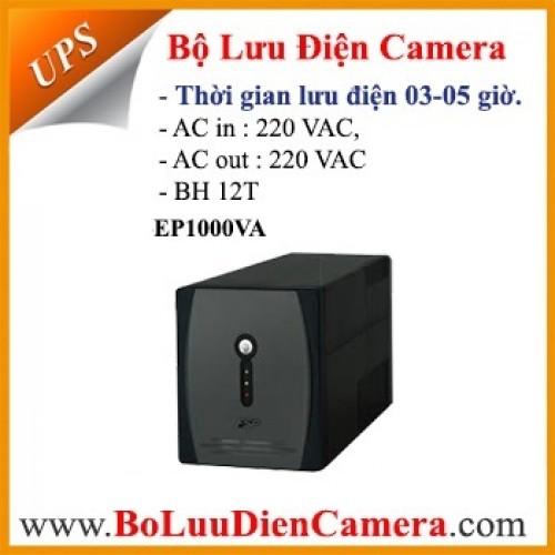 Bộ lưu điện dự phòng cho camera EP1000VA, đại lý, phân phối,mua bán, lắp đặt giá rẻ