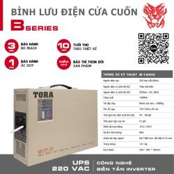 Bộ lưu điện cho cửa cuốn B1000 tải Motor 1000Kg