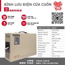 Bộ lưu điện cho cửa cuốn B600-4B tải Motor 600Kg