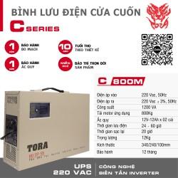 Máy lưu điện cho cửa cuốn C800M tải Motor 800Kg