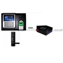 Bộ lưu điện cấp nguồn 5V DA-ACT5 cho khóa cửa, kiểm soát ra vào, thiết bị mạng wifi, camera