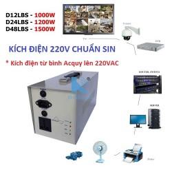 Bộ kích điện chuẩn SIN UPS D12LBS 1000W (bộ nguồn lưu điện)