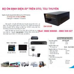 Thiết bị ổn định nguồn điện áp 12V DA12CAR cho oto, xe khách, tàu thuyền