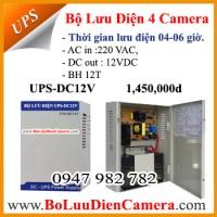 Bộ lưu điện TORA UPS-DC12V ,dự phòng cho Camera,Khóa,Modem wifi..