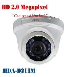 Camera AFIRI HD TVI hồng ngoại HDA-D211M 2.0 Megapixel