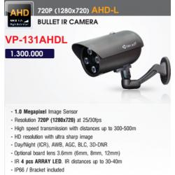 Camera AHD Vantech 1.0 Megapixel VP-131AHDL