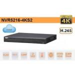 Đầu ghi hình 16 Kênh IP NVR5216-4KS2 2 sata up to 12TB