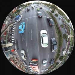 Camera Fisheye, Toàn cảnh, 360 độ