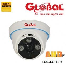 Camera Global AHD TAG-A4C1-F3 1.0MP, dome lắp trong nhà