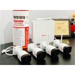 Bộ 4 camera wifi không dây 2.0Mb NVR-0104M-W/TAG-I32L3-FP40-W