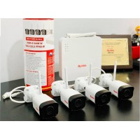 Trọn bộ 4 camera wifi không dây 2.0Mb NVR-0104M-W/TAG-I32L3-FP40-W