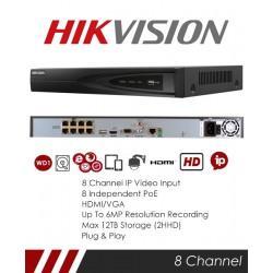Hướng dẫn reset mật khẩu đầu ghi hình Hikvision