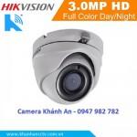 Camera HD-TVI hồng ngoại 3.0 Megapixel DS-2CE56F1T-ITM