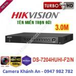 Đầu ghi hình 4 kênh DS-7204HUHI-F2/N Turbo HD 3.0 DVR