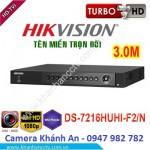 Đầu ghi hình 16 kênh DS-7216HUHI-F2/N Turbo HD 3.0 DVR