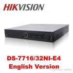 Đầu ghi 32 kênh IP DS-7732NI-E4 4 sata up to 24TB