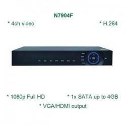 Đầu ghi hình 4 camera IP HD 1080P HSD-N7904F