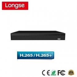 Đầu ghi camera IP LongSe NVR3608DBP 8 cổng POE H265+