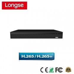 Đầu ghi camera IP LongSe NVR3608DP 8 cổng POE H265+