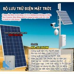 Bộ lưu trữ điện năng lượng mặt trời cho camera SL-KA360W công suất 360W
