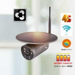 Camera IP Solar năng lượng mặt trời dùng Sim 4G VANTECH VP-2404B-4G