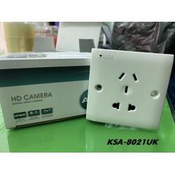 Camera ngụy trang ổ điện dùng wifi không dây KSC-8021EU (đế chữ nhật)