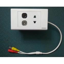 Camera ngụy trang ổ cắm điện KSC-8016A có dây