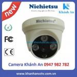 Camera AHD dome vỏ nhựa Nichietsu HD NC-103A1.3M