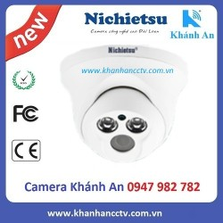 Camera AHD dome vỏ nhựa Nichietsu HD NC-104A1.2M