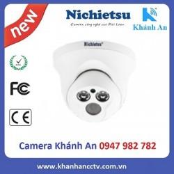 Camera AHD dome vỏ nhựa Nichietsu HD NC-107A1M