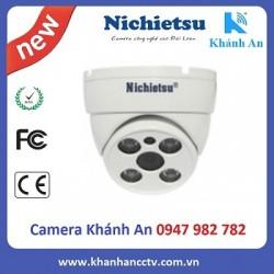 Camera AHD dome vỏ kim loại Nichietsu HD NC-201A2M IMX323