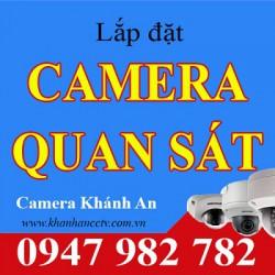 Lắp đặt camera quan sát giá rẻ, hình ảnh đẹp tại Tp HCM