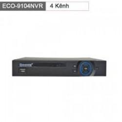 Đầu ghi 4 kênh IP Eco-9104NVR 1 sata up to 4TB
