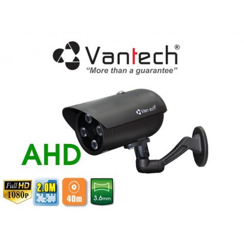Camera Vantech Thân AHD VP-134AHDH 2.0MP, đại lý, phân phối,mua bán, lắp đặt giá rẻ