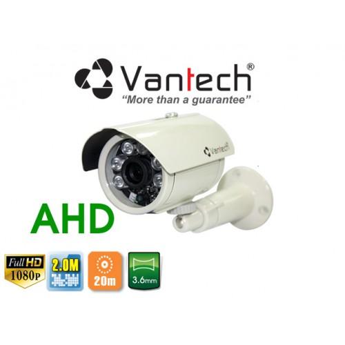 Camera Vantech Thân AHD VP-154AHDH 2.0MP, đại lý, phân phối,mua bán, lắp đặt giá rẻ