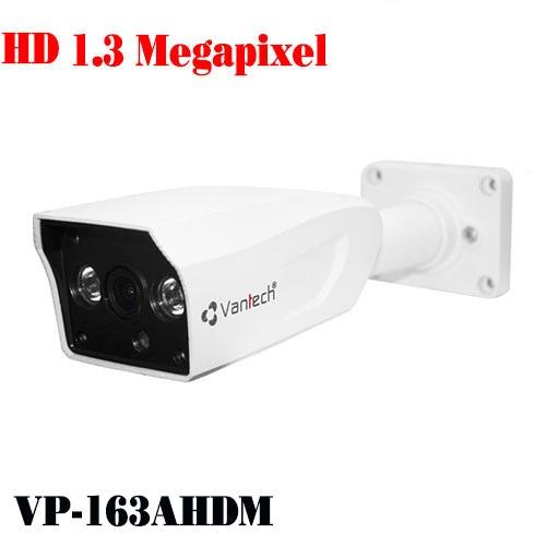 Camera Vantech Thân AHD VP-163AHDM 1.3MP, đại lý, phân phối,mua bán, lắp đặt giá rẻ