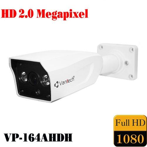 Camera Vantech Thân AHD VP-164AHDH 2.0MP, đại lý, phân phối,mua bán, lắp đặt giá rẻ