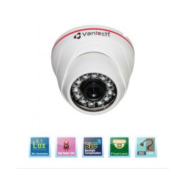 Camera Vantech Dome IP VP-180H 1.3MP