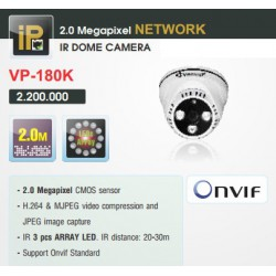 Camera Vantech Dome IP VP-180K 2MP