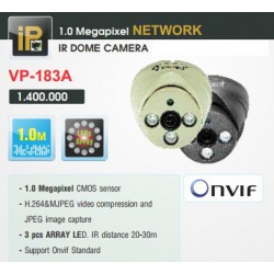 Camera Vantech Dome IP VP-183A 1MP