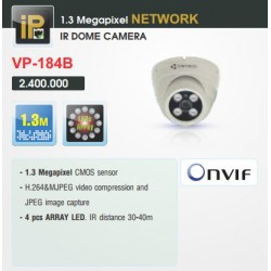 Camera Vantech Dome IP VP-184B 1.3MP