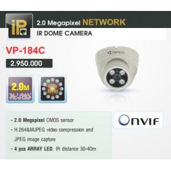 Camera Vantech Dome IP VP-184C 2MP
