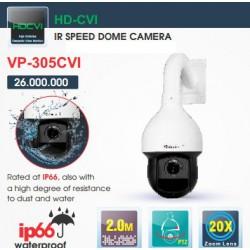 Camera Dome HD-CVI VP-305CVI 2.0MP