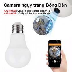 Camera ngụy trang Bóng Đèn WiFi Xem 360 độ KAS-8020