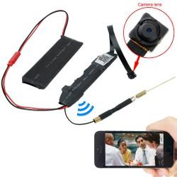 Camera IP siêu nhỏ quan sát trên điện thoại KAS-8013W