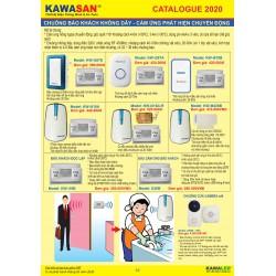 Hồng ngoại báo khách không dây Kawa KW-i287E