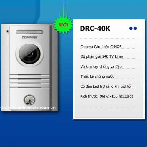 Camera chuông cửa Commax DRC-40K, đại lý, phân phối,mua bán, lắp đặt giá rẻ